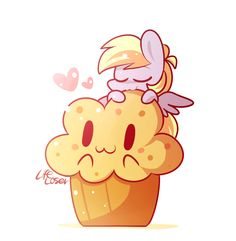 I hate to admit it. . . . . . . . . . . . . . . . . . . . . . . . . . . . . . . . . . . . . . . . . . . . . . . . . . . That muffin is even cuter than Derpy.