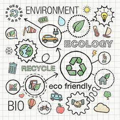 Buy Ecology Sketch Concept with Hand Draw Doodle Icons by Hilch_R on GraphicRiver. Vector sketch integrated doodle illustration for environmental, eco friendly, bi. Doodle Icon, Doodle Sketch, Doodle Art, Sketch Icon, Sketch Notes, Save Water Poster Drawing, Science Illustration, Collage, Catalog Design