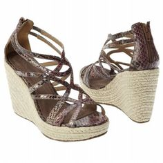 $76.99 Coconuts Surrender Sandals Burgandy Women`s Sandals class