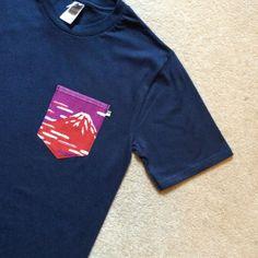 Japanese Pocket Tees - Custom Mens Pocket T Shirts - £20 - WWW.DEADGENT.COM