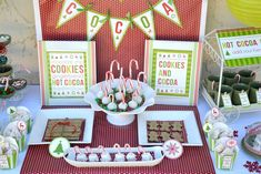 Cookies and Cocoa Party Christmas/Holiday Party Ideas | Photo 1 of 31 | Catch My Party