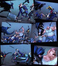 Frank Quitely's Batman.