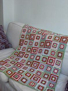Filling the Space: crochet blanket