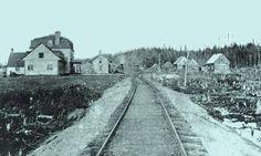 Simon GauthierRetour dans le temps - Comté de Portneuf Lac-Édouard - 1910. Peu de temps après que le Sanatorium ne soit fondé.