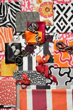 Diane von Furstenberg for Kravet Collections - fabric and trimmings