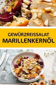 Ein raffiniertes Rezept für Gewürzreissalat mit Huhn, Orangen und Radicchio.