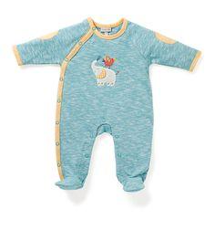 Pyjama de 3 mois à 18 mois de la collection Papoum disponible chez Saperlipopette Moulin Roty la Boutique, 28 rue de la Scellerie à Tours.