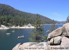 Big Bear Lake California Information - Photos of Big Bear Lake