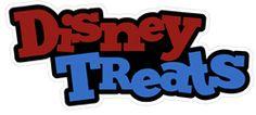 Disney Treats Cutouts