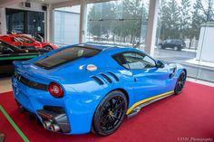 Azzurro Dino Blue Ferrari F12tdf
