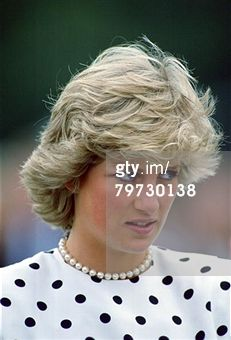 UNITED KINGDOM - JUNE 26: Diana, Princess of Wales at Smith's Lawn Polo Club in Windsor (Photo by Tim Graham/Getty Images)