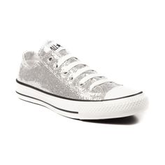Shop for Converse All Star Lo Glitter Sneaker in Silver at Shi by Journeys. Shop today for the hottest brands in womens shoes at Journeys.com.