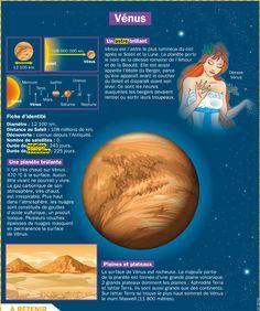 Fiche exposés : Vénus                                                                                                                                                                                 Plus