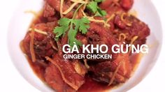 Try this popular Vietnamese chicken recipe (Gà Kho Gừng) by Food Hero top pick Helen Le. Easy Chinese Recipes, Filipino Recipes, Thai Recipes, Asian Recipes, Easy Recipes, Chicken Recipes, Easy Meals, Pho Noodle Soup, Asian Food Channel