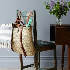 Be the chicest one at the market (or beach) with this handwoven market backpack from the Food52 Shop.