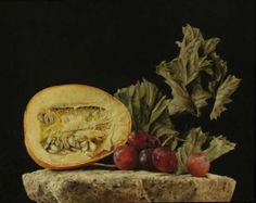 Autumn II - Rafael de la Rica - 46x34 cm - Oil in Wood