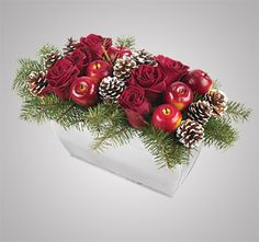 an idea to expand upon, Christmas arrangements