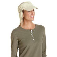 61cb79ecde7 Coolibar UPF 50+ Women s Cadet Sun Cap - Sun Protection Sun Protection Hat
