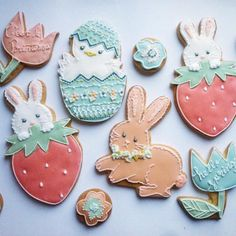 Easter cookies // Magu   Cookie Connection