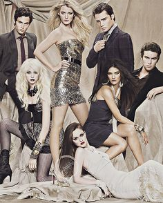 Gossip Girl... XoXo...  This is too much beauty to handle
