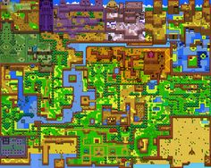 legend of zelda maps - Google Search