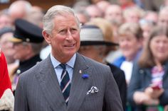 Prince Charles handed out degrees to students from the Royal Agricultural University.