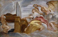 Peter Paul Rubens (1577-1640), Die heilige Cäcilia, 1620 © Gemäldegalerie der Akademie der bildenden Künste Wien