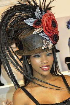 lystra adams - I want this hat!