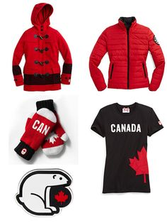 Canada's Olympic Team Suits Up for Sochi 2014 Meanwhile In Canada, I Am Canadian, Sports Uniforms, O Canada, Olympic Team, Winter Olympics, Motorcycle Jacket, Athlete, My Design
