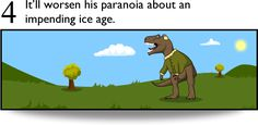 7 Reasons to Keep Your Tyrannosaur OFF Crack Cocaine - The Oatmeal