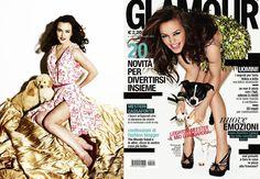 Leighton Meester : star, glamour et puppy #GossipGirl #LeightonMeester #puppy