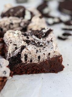Brownie med oreofrosting
