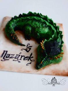 dragon cake children's cake