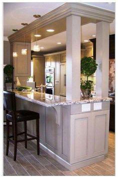 23 unique small kitchen design ideas for your apartment 16 ⋆ All About Home Decor Home Design, Interior Design Kitchen, Kitchen Designs, Diy Interior, Home Renovation, Home Remodeling, Kitchen Remodeling, New Kitchen, Kitchen Decor