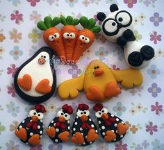 I will make this with fimo Polymer Clay Animals, Polymer Clay Dolls, Polymer Clay Miniatures, Polymer Clay Projects, Polymer Clay Charms, Polymer Clay Creations, Clay Crafts, Clay Magnets, Christmas Clay