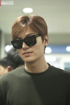 (Part 8)In 08-08-2015 Lee Min Ho go to Airport back from Nanjing.