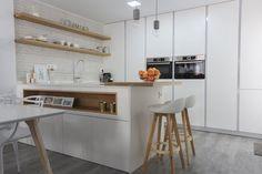 Cocina abierta al salón Ideas Hogar, Sweet Home, Kitchen, Inspiration, Furniture, Foodies, Home Decor, Washington, Tables