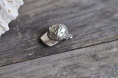 Sterling Silver Baseball Hat 3D 925 Sterling Baseball Hat Charm Pendant Made in USA by Pearlwearbeads on Etsy