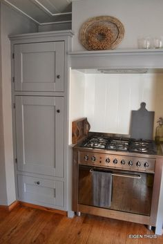 EIGEN THUIS: Keuken perikelen planken achter fornuis