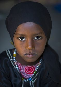 Afar Tribe princess, Ethiopia - not sure if she is a princess from a royal family or not, but she should be!