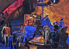 party ... Syd Mead by x-ray delta one, via Flickr