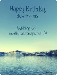 Top 50 Happy Birthday Wishes For Brother (With Images) – Birthday 2020 Short Birthday Wishes, Happy Birthday Wishes For A Friend, Happy Birthday Dear, Happy Birthday Messages, Birthday Greetings, Birthday Images, Quotes For Birthday Wishes, Happy Birthday Bhai Quotes, Funny Birthday