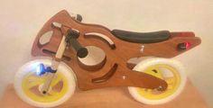 ROTOMOTO Wooden Balance Bike - Handmade - unique design - No. 322041457963