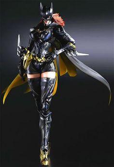 Batgirl Action Figure Variant Play Arts Kai DC Square Enix