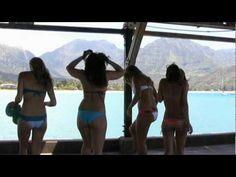 Colbie Callait video, The Little Things.  Filmed in Hanalei; final scene at the Hanalei Surfboard House.
