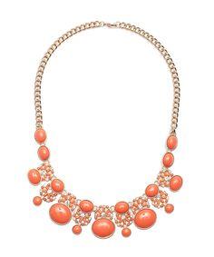 Orange Blossom Necklace #shoplately