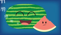 Watermelon by Project Daily // Day 519 // #food #illustration