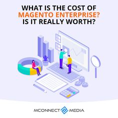 When it comes to choosing a large scale #eCommerce #business platform🛒, choosing #MagentoEnterprise Edition 📦 is the best decision you can ever make. However, it's not free but is it worthy?🚀 Let's find out: Ecommerce, Scale, Things To Come, Business, Free, Weighing Scale, E Commerce, Stairway, Weight Scale