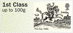 GB Correo a Caballo 1640s