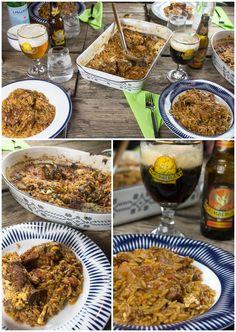 Κατσικάκι κοκκινιστό γιουβέτσι φούρνου Meat, Recipes, Food, Beef, Rezepte, Meals, Ripped Recipes, Recipe, Yemek